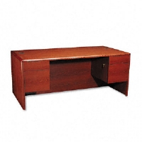 DESK,72X36,D/PED,HCY - More Info