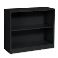 BOOKCASE,METL,29X34.5,BK - More Info