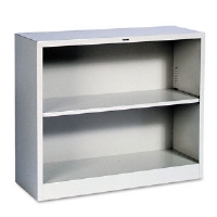BOOKCASE,METL,29X34.5,LGY - More Info