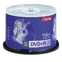 DISC,DVD+R,4.7GB,16X,50PK - More Info