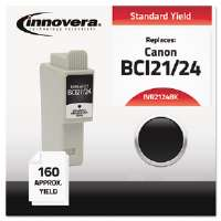 Ink Cartridge for Canon 2000,BK 2124BK Compatible Ink, 125 Page-Yield, Black
