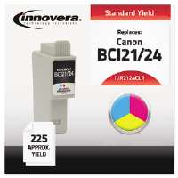 Ink Cartridge for Canon 2000,COL 2124CLR Compatible Ink, 105 Page-Yield, Tri-Color