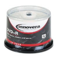 DISC,DVD+R,4.7GB,50PK - More Info