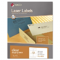 LABEL,LASER 10/SHT,CLR - More Info
