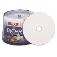 DISC,DVD+R,4.7GB,50/PK - More Info