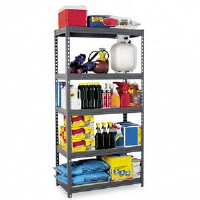 SHELVING,HEAVYDUTY,36,GY - More Info