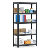 SHELVING,HD,5SHELF,72,BK - More Info