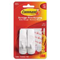 TAPE,HOOK,COMMAND,MED,2PK - More Info