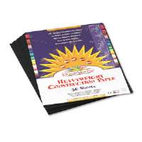 PAPER,CNST,9X12,50PK,BK - More Info
