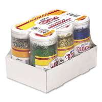 GLITTER,4OZ,6COLR/PK,ASST - More Info
