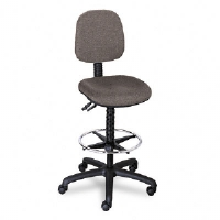 CHAIR,DRAFTING,HIGH.,DGY - More Info