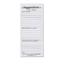 REFILL,SUGG.CARD,WE,25/PK - More Info