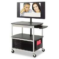 CART,FLAT PANEL A/V,BK - More Info