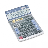 CALCULATOR,12DGT,SEMI DSK - More Info