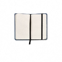 Designer Notebook, Blue Cover, Ruled, 5-1/2 x 3-1/2, Premium Ivory, 96 Sheets - More Info