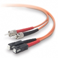 Belkin 10-Meter Multimode Duplex Fiber Optic Cable - More Info