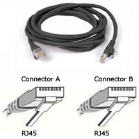 100FT CAT5E RJ45M CBL-BLK - More Info