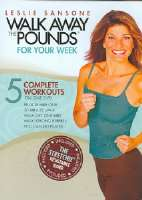 LESLIE SANSONE: WALK AWAY THE POUNDS F - DVD Movie