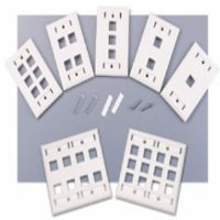 Cables To Go 2-Port Keystone Wall Plate - More Info