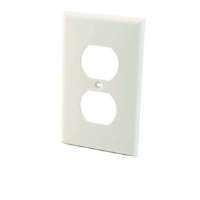 Cables To Go White Electrical Wall Plate - More Info