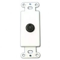 Cables To Go S-Video Wall Plate Insert - More Info