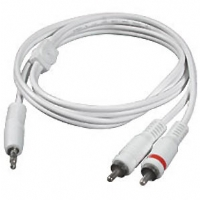 Cables To Go 6-Foot Y Adapter 3.5mm to 2-RCA Plugs - More Info