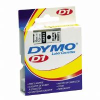 Dymo D1 Black on Clear Printing Tape - More Info