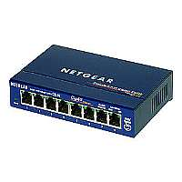 Switch 8-Port 10/100/1000MBPS - More Info