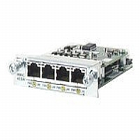 HWIC 4-Port 10/100Mbps PoE - More Info
