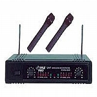 Dual UHF Wireless Microphone - More Info