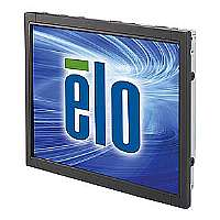 Elo Open-Frame Touchmonitors 1940L IntelliTouch Plus - LED monitor - 19 - open frame - 1366 x 768 HD - 225 cd/m2 - 1000:1 - 5 ms - DVI-D, VGA - black, steel