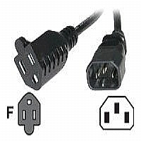 CABLES TO GO 3FT MONITOR POWER ADAPTER CORD - More Info