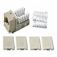 CABLES TO GO CAT6 KEYSTONE JACK IVORY - More Info