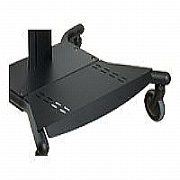 BASE SHELF FOR SMARTMOUNT SR SERIES CARTS - BLACK - More Info