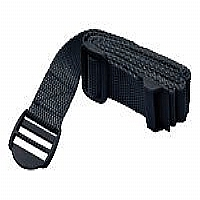 SAFETY BELT FOR SLOTTED SHELVES - BLACK - More Info