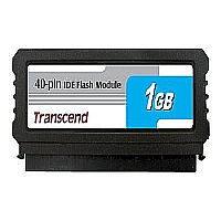 TRANSCEND 1GB 40P IDE FLASH MODULE (VERTICAL), WIT - More Info