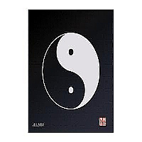 MOUSE PAD YING YANG BLUE - More Info
