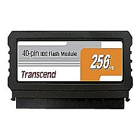 TRANSCEND 256MB 40PIN IDE FLASH MODULE, SMI CONTRO - More Info