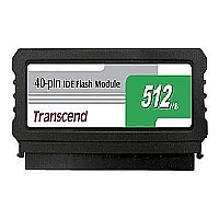 TRANSCEND 512MB 40PIN IDE FLASH MODULE, SMI CONTRO - More Info