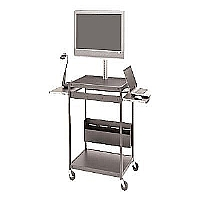 FLAT PANEL OPEN-SHELF CART - More Info