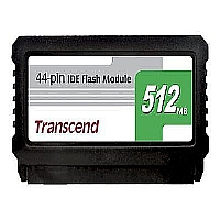 TRANSCEND 512MB 44PIN IDE FLASH MODULE, SMI (VERTI - More Info