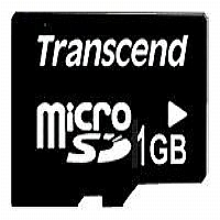 TRANSCEND 1GB MICRO SD (NO BOX & ADAPTER) - More Info