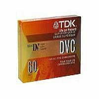 60MIN MINI DVC TAPE - More Info