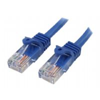 1 FT BLUE SNAGLESS CAT5E UTP PATCH CABLE - More Info