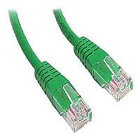 1FT GREEN MOLDED CAT5E UTP PATCH CABLE - More Info