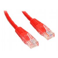 1FT RED MOLDED CAT5E UTP PATCH CABLE - More Info