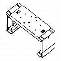 MOUNTING COMPONENT ( BRACKET ) FOR VCR OR DVD - ST - More Info