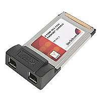 2 PORT IEEE1394 FIREWIRE CARDBUS ADAPTER - More Info