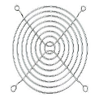 12 CM PC COMPUTER EXHAUST FAN WIRE GUARD - More Info