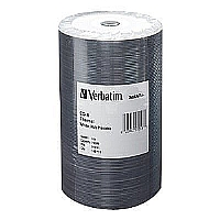 100PK 700MB CD-R 52X WHT-THERM HUB PRNT TAPE WRAP - More Info